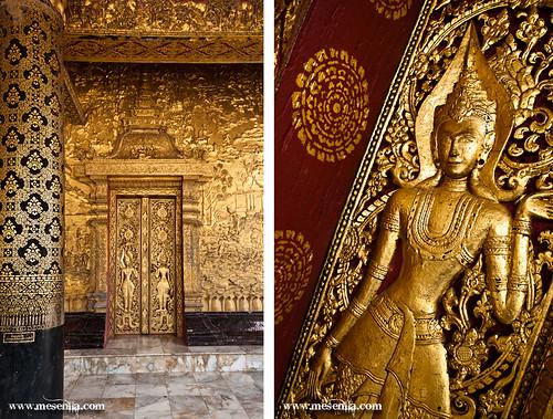 Gravats de les parets del temple