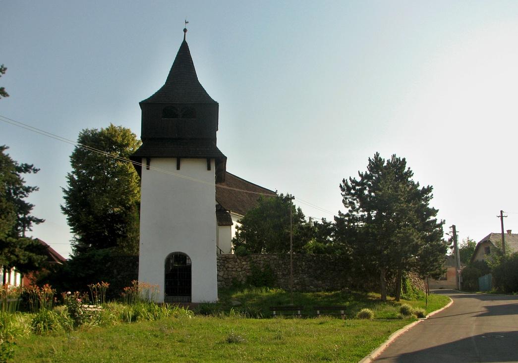 Kostol v Pôtri dnes, čelný pohľad