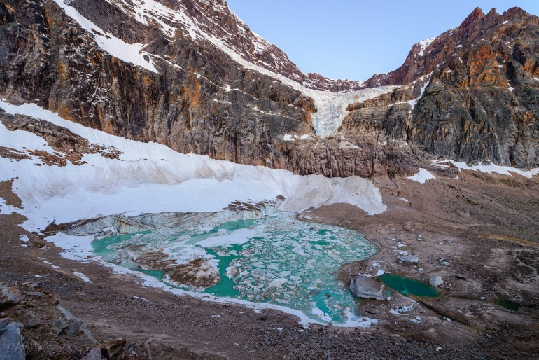 Cavell Pond - Post Ghost Glacier