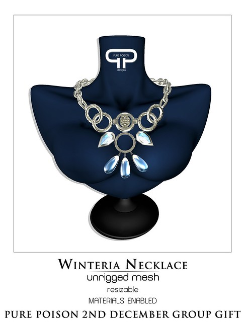Pure Poison - WInteria Necklace - 2nd December Group Gift
