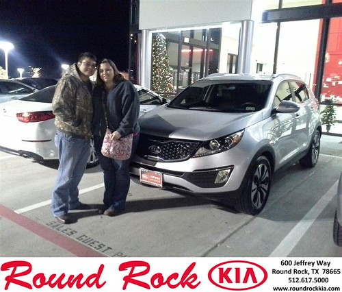 Thank you to Kelli Buck on your new 2012 #Kia #Sportage from Eric Armendariz and everyone at Round Rock Kia! #NewCarSmell by RoundRockKia