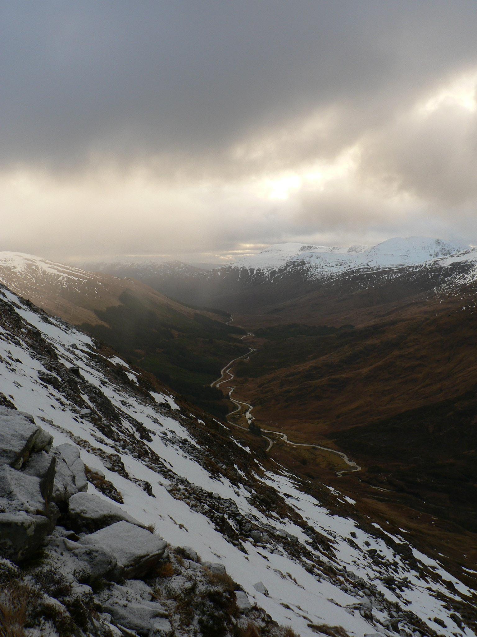 On the ascent of Sgurr nan Spainteach