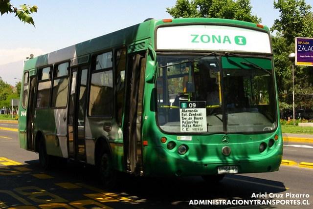 Transantiago - Comercial Nueva Milenio / Buses Vule - Metalpar Tronador / Mercedes Benz (XP6446)