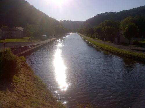 Lutzelbourg, Canal de la Marne au Rhin