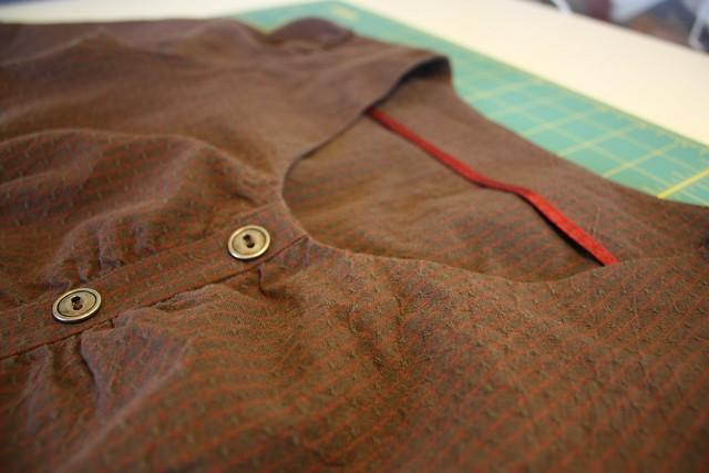Sureau dress detail