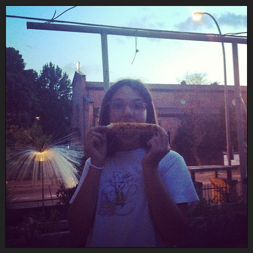Pannocchie alla brace #food #summer #estate #figli #mais #bbq