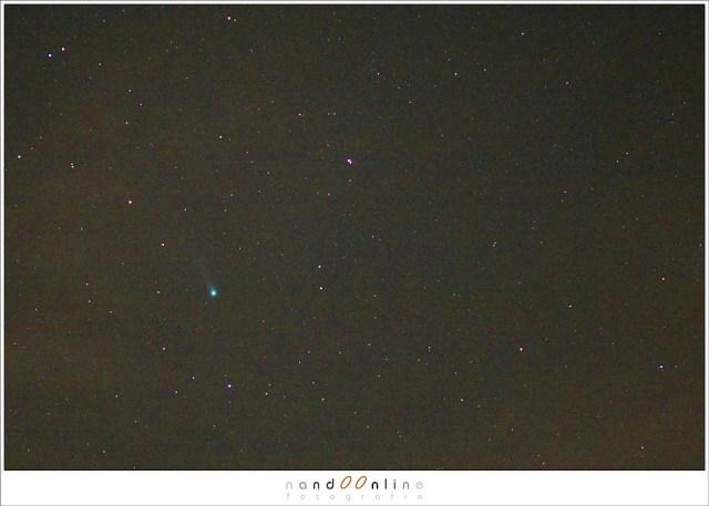 Voor dag en dauw op jacht naar komeet Lovejoy