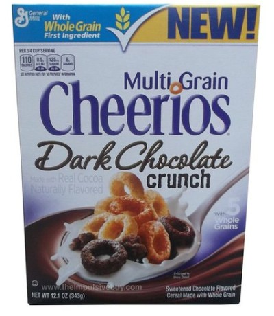 Multi Grain Cheerios Dark Chocolate Crunch Cereal