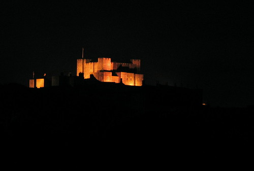 Dover at night