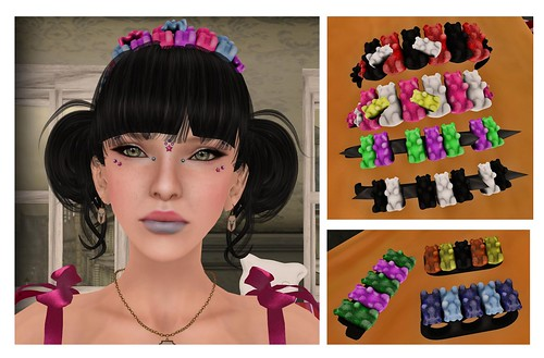 Goth1c0, WOW, Cute Poison, Juxtapose, Zombie Suicide at candy fair