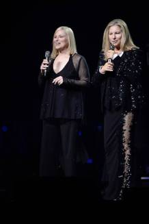 Roslyn Kind and Barbra Streisand