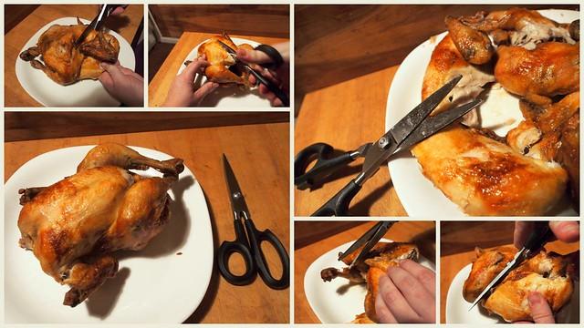 Breaking Down Chicken with CUTCO Super Shears