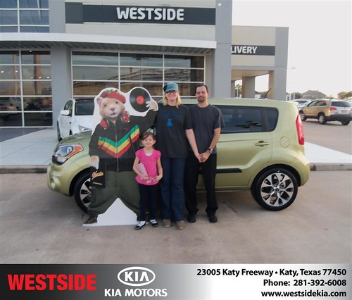 Happy Anniversary to Elise Nelson on your 2013 #Kia #Soul from Rizkallah Elhallal and everyone at Westside Kia! #Anniversary by Westside KIA