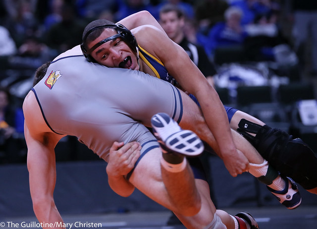 182AA - 1st Place Match - Jared Florell (Totino-Grace) 41-2 won by decision over Bobby Striggow (Orono) 42-4 (Dec 7-3)
