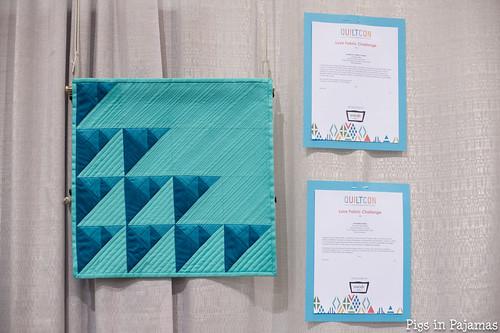Pyramids in Blue by Amanda of Mucho XOXO