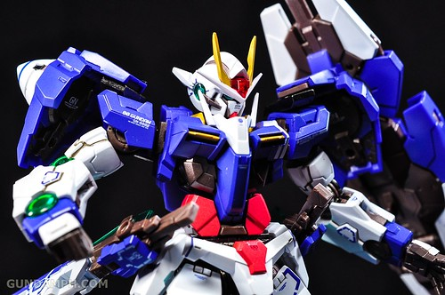 Metal Build 00 Gundam 7 Sword and MB 0 Raiser Review Unboxing (90)