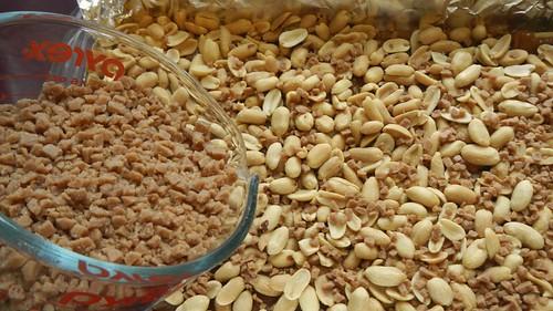 Salty Caramel Nut Squares 20