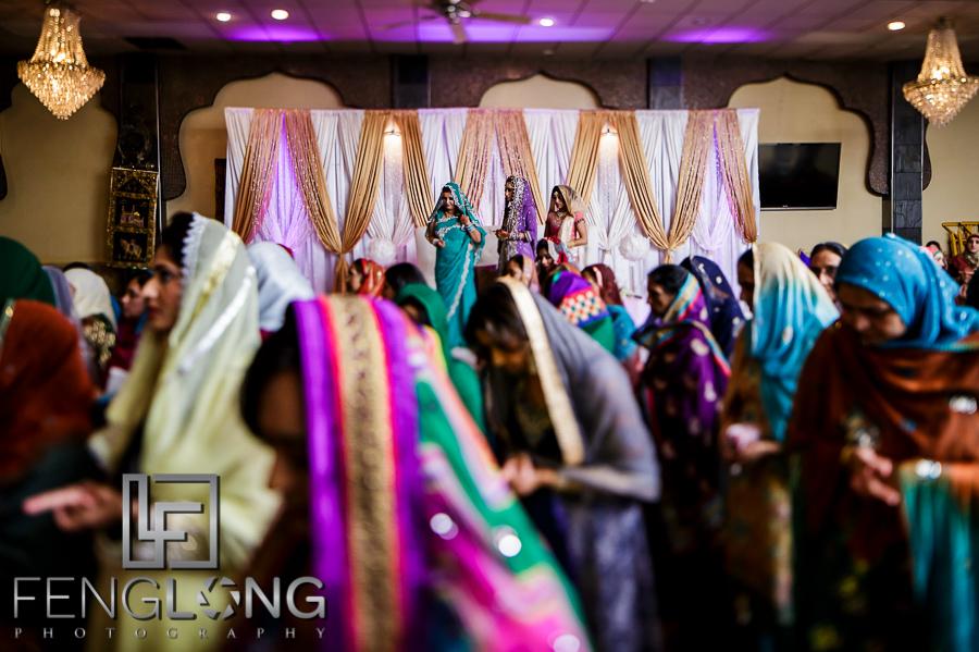 Muslim wedding ceremony at Jaffari Center of Atlanta