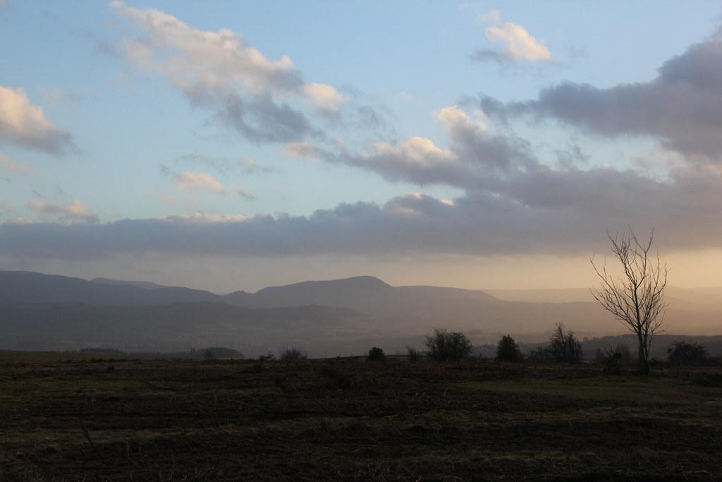 The Begwyns, Mynydd Troed