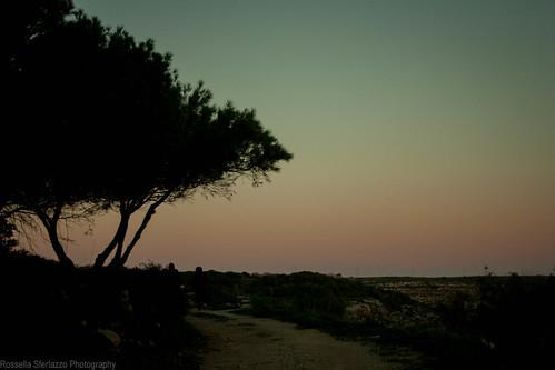 Lampedusa sunset by Rossella Sferlazzo