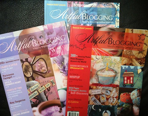 Some issues of Artful Blogging