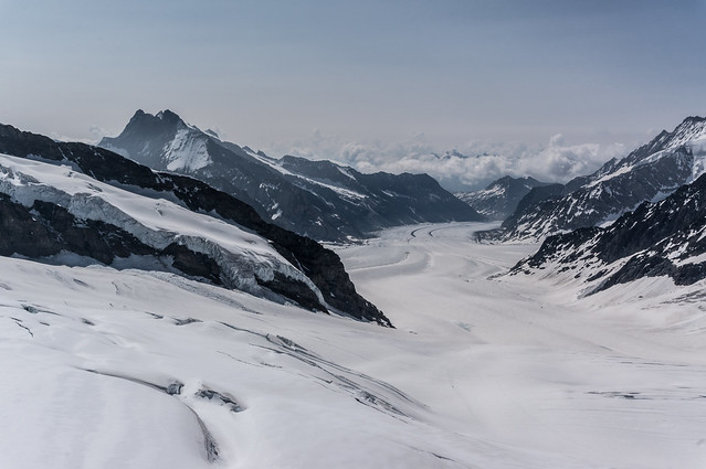 Jungfraujoch - Great Aletsch Glacier