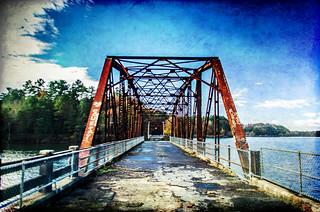 Old 123 Bridge with Texture