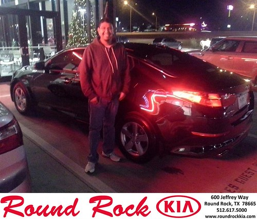 Thank you to Juan Gonzales on your new 2014 #Kia #Optima from Eric Armendariz and everyone at Round Rock Kia! #NewCarSmell by RoundRockKia