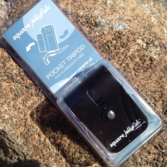 Square Jellyfish Pocket Tripod