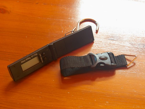 AirAsia Foldable Electronic Luggage Scale