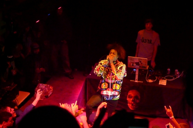 Danny Brown performs at The New Parish in Oakland