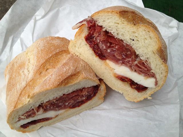 Renzo special sandwich - Molinari Delicatessen