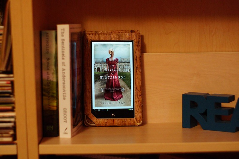 "Mini Review: ""The Heiress of Winterwood"" by Sarah Ladd (Empty Shelf #3)"