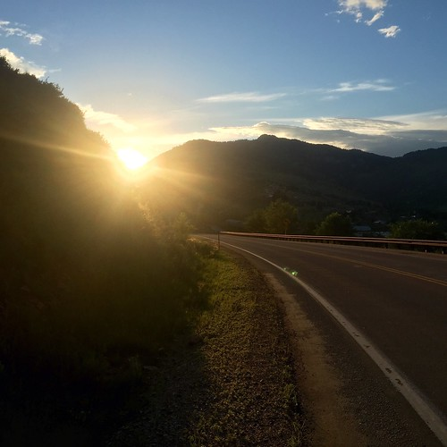 Horsetooth sunset