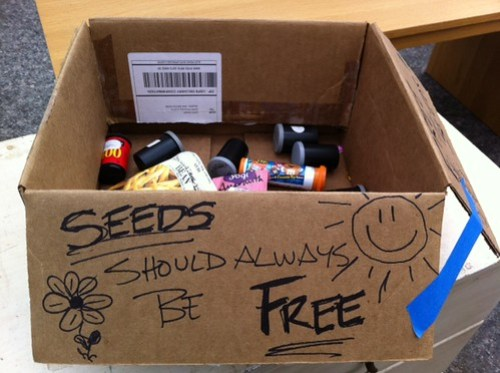 Seeds should always be free