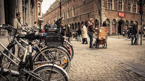The little music of Bruges (Bruges, Belgium) - Photo : Gilderic