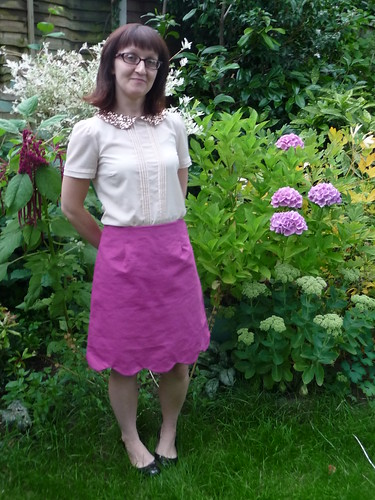 Handmade Colette Patterns Meringue Skirt