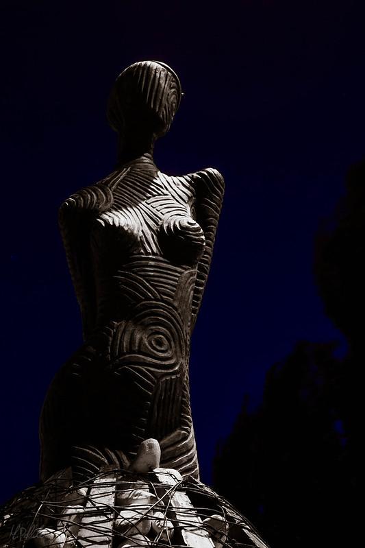 La mujer sin rostro