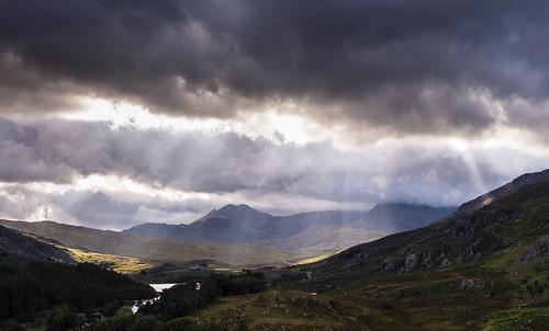 Spot-lit Valley