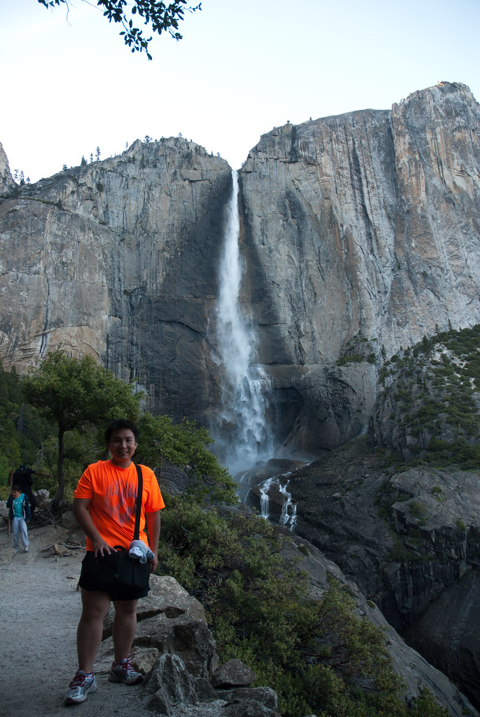 Me with Upper Yosemite Falls
