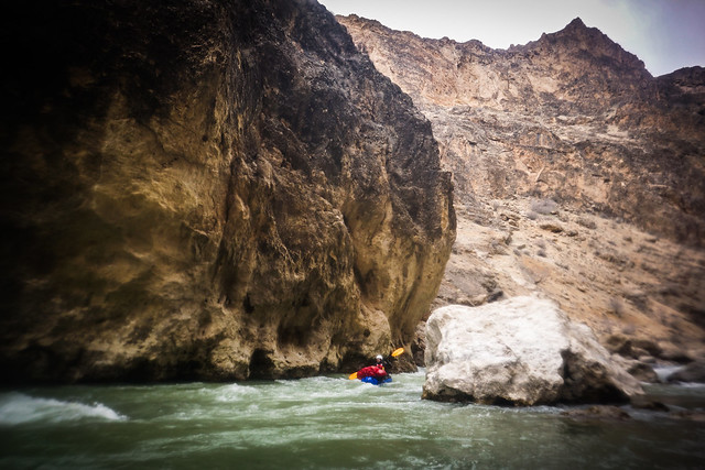 Epic gorge landscapes for packrafting