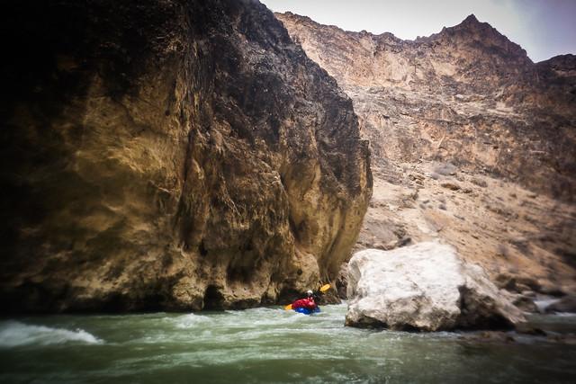 Epic gorge landscapes for packrafting