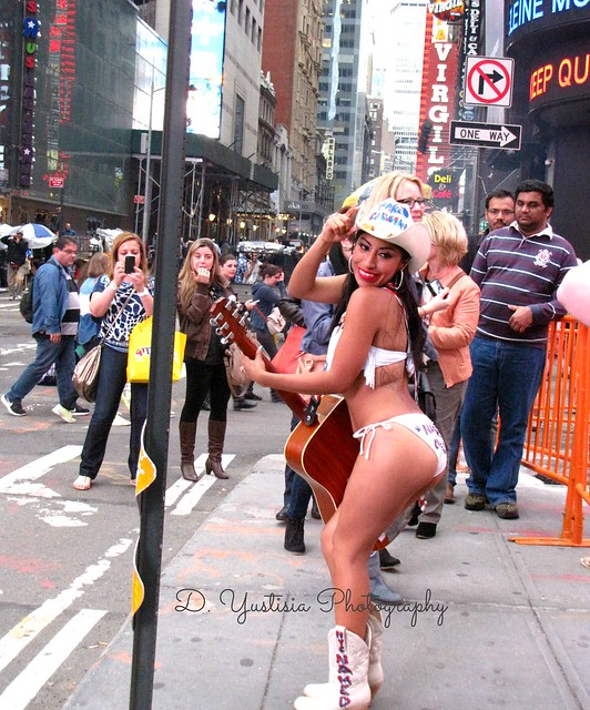 New York City Naked Cowgirl