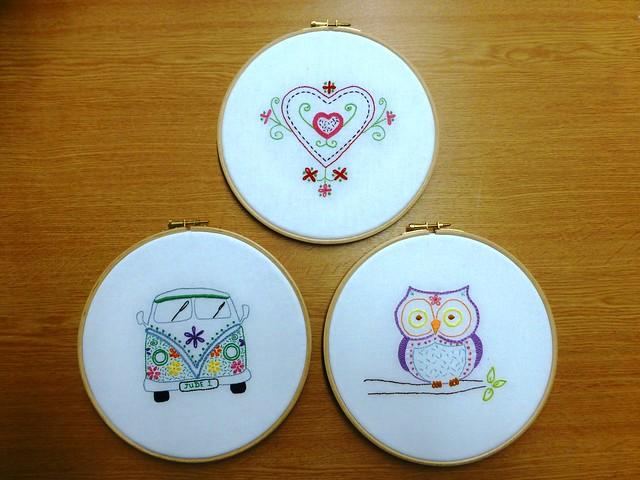 Embroidery Workshop Samples