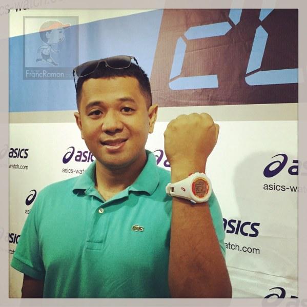 clérigo menú Caracterizar  Asics Running Watch Goes GPS | Franc Ramon