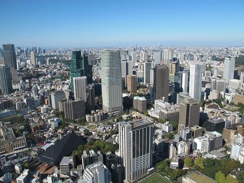 """Tokyo vu de la """"tour"""""""