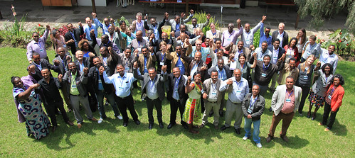 Africa RISING annual Learning event  participants