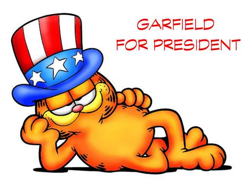 Garfield For President