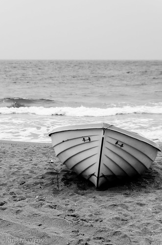 The lonely boat