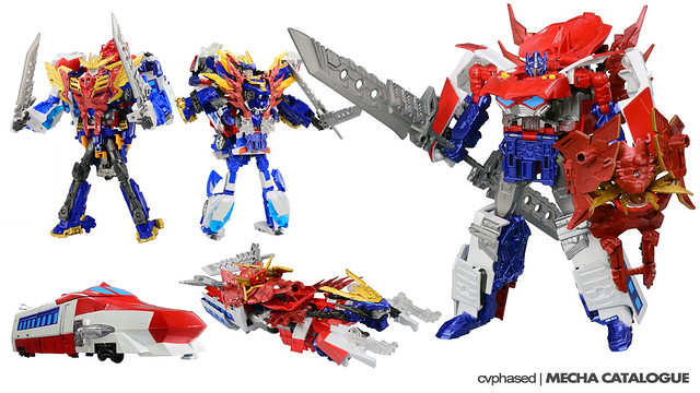 TRANSFORMERS Go! Optimus EX Prime - Official Images